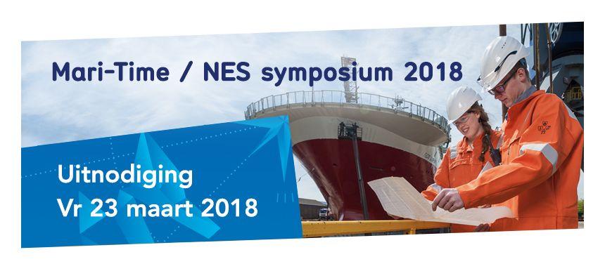 MARI-TIME / NES symposium op vrijdag 23 maart 2018