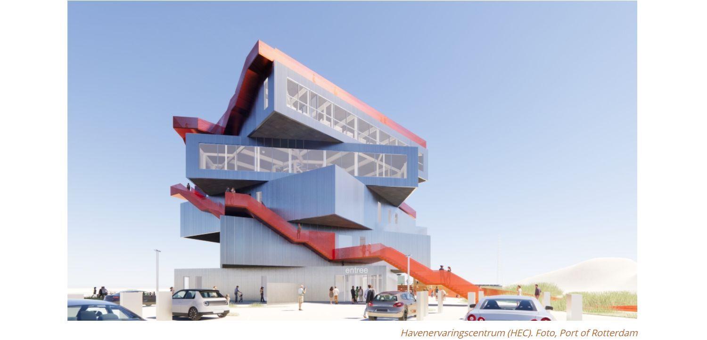 Havenbedrijf Rotterdam bouwt nieuw centrum over de haven