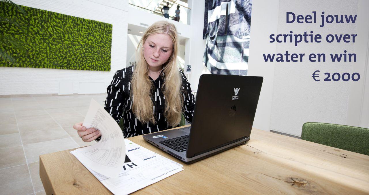 Scriptieprijs voor beste scriptie over water
