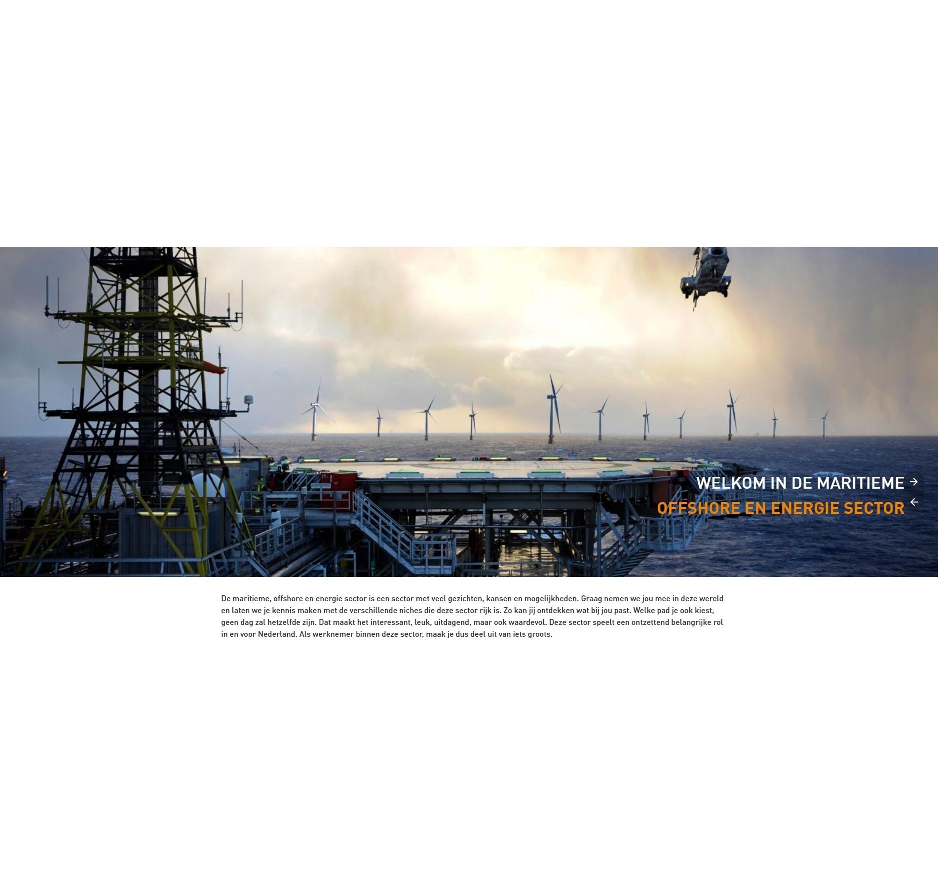 Kickstart voor carrière in maritieme, offshore en energie sector