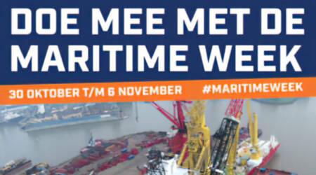 Doe mee met de Maritime Week 2021 !