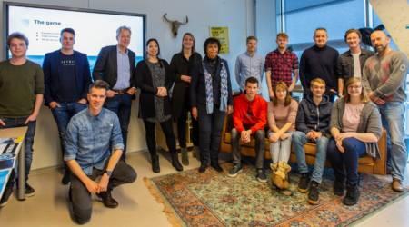 Presentaties Waterbouw van studenten Communication & Multimedia Design (CMD) van NHL/Stenden