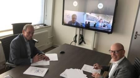 Contractondertekening met Concordia Damen en subsidie voor STC-opleidingsschip