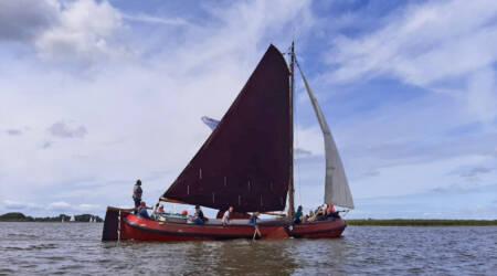 Maritieme Academie Harlingen maakt duurzame reis rogge naar Mevrouw de Molenaar compleet