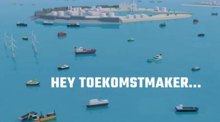 Promotie maritieme sector op onderwijsbeurzen