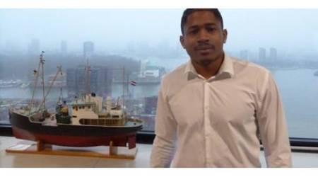 Zeevaartstudent Luyone gekozen tot Meest Sociale Student