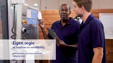 SER publiceert brochure 'Eigen regie op loopbaan en ontwikkeling'