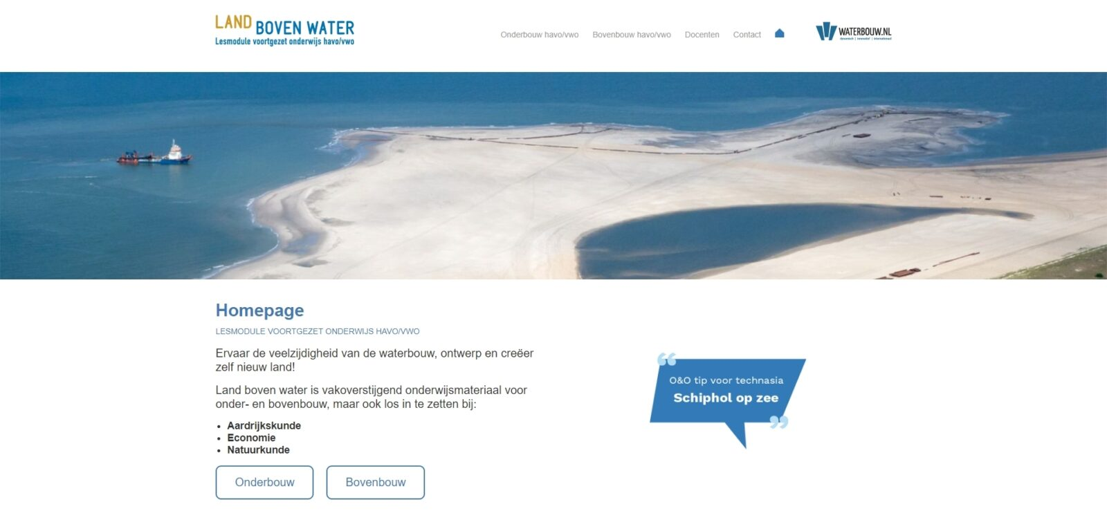 Land Boven Water Cap