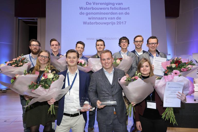 Genomineerden Waterbouwprijs 2018